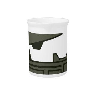 Rocket launcher beverage pitchers