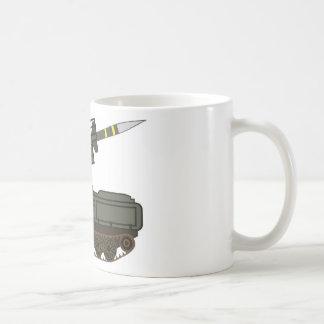 Rocket launcher coffee mug