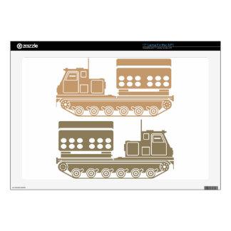 "Rocket launcher military 17"" laptop skins"