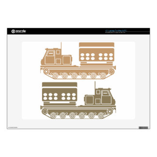 Rocket launcher military skin for laptop