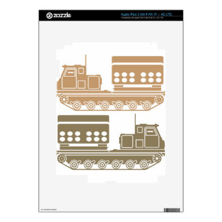 Rocket launcher military skins for iPad 3