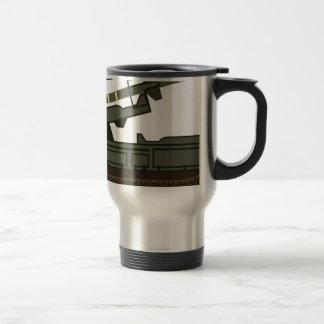 Rocket launcher travel mug