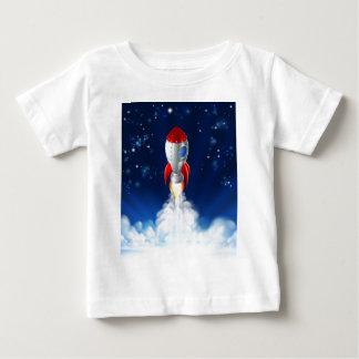 Rocket Lift Off Baby T-Shirt
