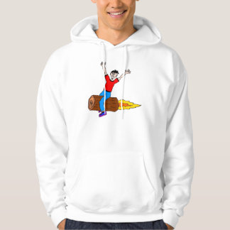 rocket log sweatshirt