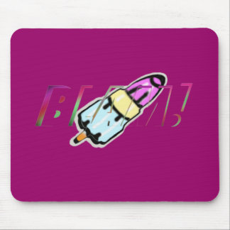 rocket lolly mouse pad