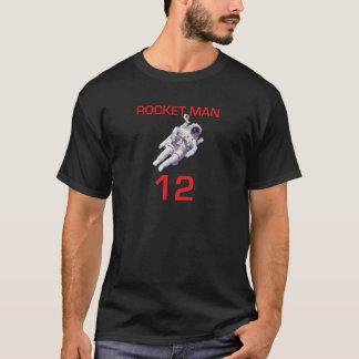 Rocket Man 12 Basketball Astronaut T-Shirt