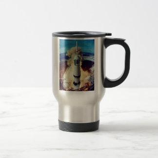 Rocket Man 15 Oz Stainless Steel Travel Mug