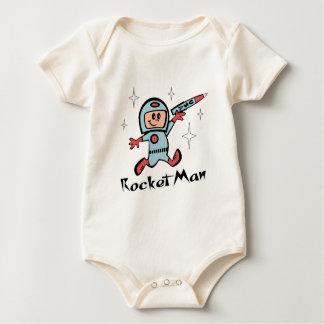 Rocket Man Baby Bodysuit