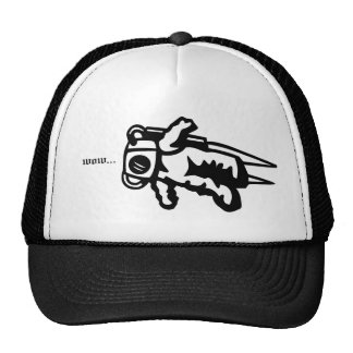 Rocket Man Mesh Hats