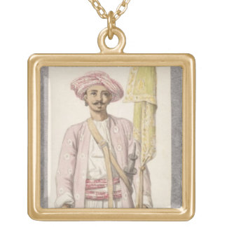 Rocket Man of Tipoo Sultan (1750-99), c.1793-4 (w/ Gold Plated Necklace