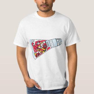 Rocket Man Retro Gemini Rockets in Space Shirt