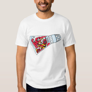 Rocket Man Retro Gemini Rockets in Space T Shirt