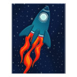 Rocket Membrete Personalizado