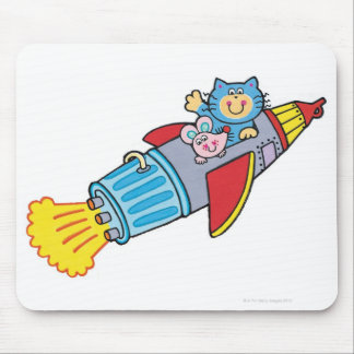 Rocket Mouse Pad