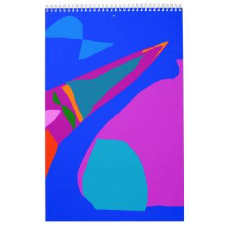Rocket Painting Museum Ruins Goblet Ultimate Calendar