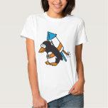 rocket penguin t shirt