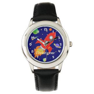 Rocket Personalized Wrist Watch