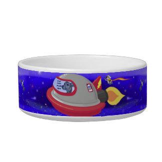 Rocket Pet Cat Food Bowls