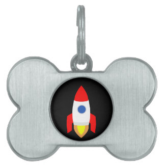 Rocket Pet Tag