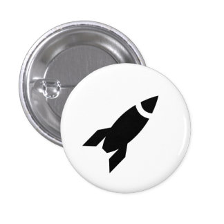 Rocket Pictogram Button