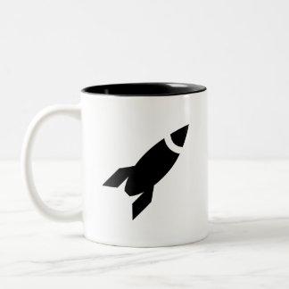 Rocket Pictogram Mug