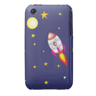 Rocket pig iPhone 3 Case-Mate cases