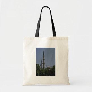 Rocket Pillars Tote Bag