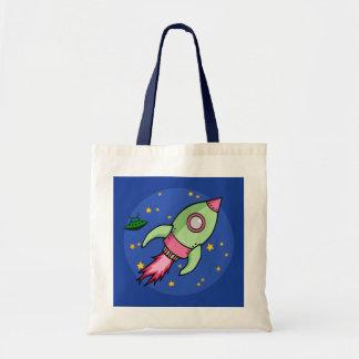 Rocket pink green Bag