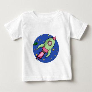 Rocket pink green Infant T-shirt
