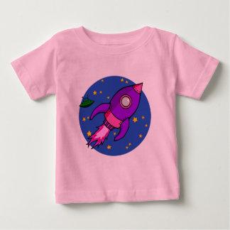 Rocket pink purple Infant T-shirt