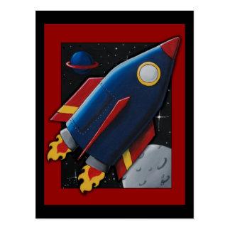 Rocket Postcard