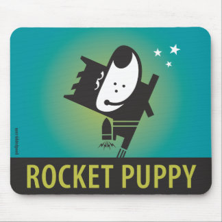 ROCKET PUPPY Mouse Pad