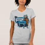 Rocket Raccoon Badge T-shirt