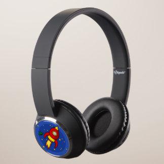Rocket red DJ Style Headphones