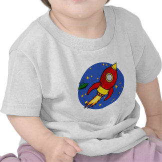 Rocket red yellow Infant T-Shirt