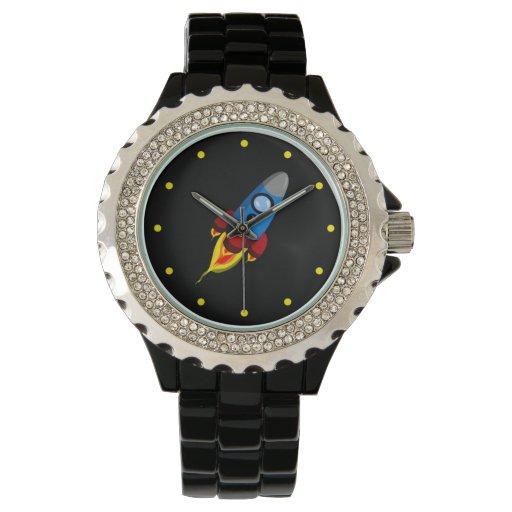 Rocket retro relojes de mano