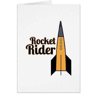 Rocket Rider Greeting Card