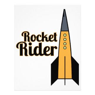 Rocket Rider Personalized Letterhead