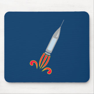 Rocket rock spaceship space ship mouse pads