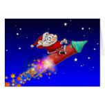 Rocket Santa 02 Felicitaciones