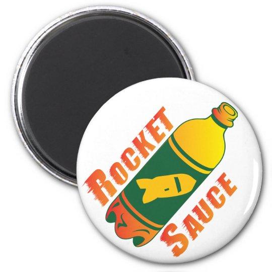 Rocket Sauce Magnet