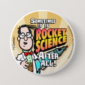 Rocket Science Button