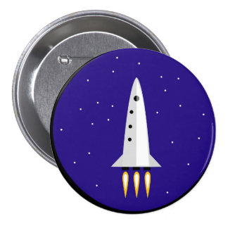 Rocket Science Pinback Button