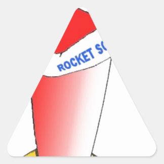 Rocket Science Triangle Sticker