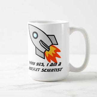 Rocket Scientiest Cup Coffee Mug
