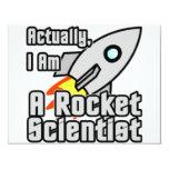 Rocket Scientist Custom Invites