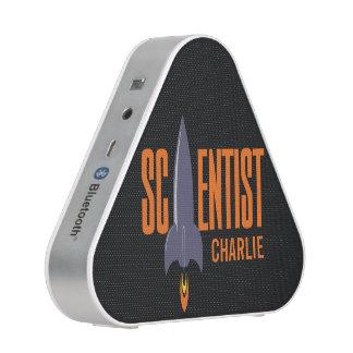 Rocket Scientist custom name bluetooth speaker