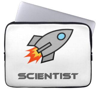 Rocket Scientist Laptop Computer Sleeves