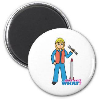 Rocket Scientist - Light Blonde Refrigerator Magnet