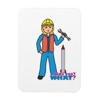 Rocket Scientist - Light Blonde Magnet
